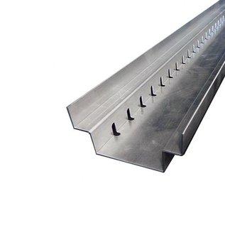 Versandmetall Caniveau  de drainage en acier inoxydable, largeur d'entrée 90 à 140mm. Quantités 10m, 20m, 30m, 40m, 50m