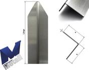 Eckschutzwinkel modern 1-fach gekantet 1m bis 1,8m Länge