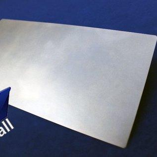 Versandmetall Set [ 80  Stück ] Zuschnitt 150x150mm aus 2,0mm  Stahlblech DC01, 8x gelocht, entgratet