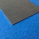 Set [3 pièces] V2a plaques perforées S = 1, 0, perforation Rv 1,5-2,5 Surface laminée brillante; Dimension 120 x 80mm
