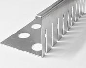 Kiesfangleisten aus 1,5mm Aluminium