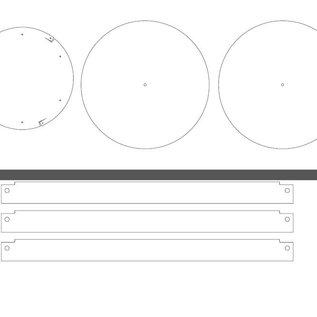 Versandmetall Jeu de flans laser laser en aluminium [18 St] 1,0 et 1,5mm selon les modèles PDF, blanc Al99,5: fichier: 20190115_Fiche en aluminium 1,0 mm; Fichier: 20190115_Feuille d'aluminium 1,5 mm