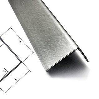 Versandmetall - Stel [12 St (24m)] randbescherming 3-voudig gevouwen 1,5 mm buiten K320 axbxL 50x50x2000mm