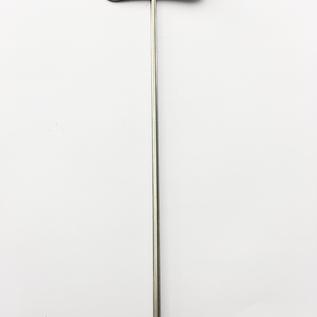 Versandmetall Stabile Pflanzenschilder Pflanzstecker aus hochwertigem Edelstahl  Schildmaß 7,4x2,3cm Stablänge 25cm