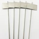 Versandmetall Signalisation végétale stable Bouchon de plantation en acier inoxydable de haute qualité 7,0x4,3cm