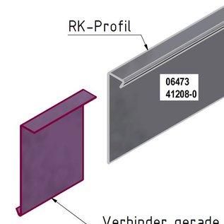 Versandmetall -Set  75m  [ 30 St ]  Stabile Rasenkanten Kiesleiste aus 1,0 mm starkem Edelstahl (1.4301) hergestellt. h= 200mm  30x L= 2500mm  25 Verbinder 6 Winkelverbinder ( variabel biegbar)