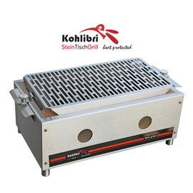 Kohlibri SteinTischGrill Kohlibri Stein Tisch Grill  stainless steel