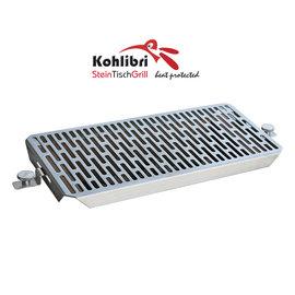 Kohlibri SteinTischGrill Universal Flachgitter-Grillrost für den Kohlibri SteinTischGrill