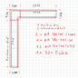 Versandmetall - Couvercle mural [5,715 + 2 795 m] d'éloxiter en aluminium de 1 mm E6 / EV1 l = 320/380 mm h = 40 mm y compris 4 connecteurs, 1 raccord d'angle 2x à 90 degrés,