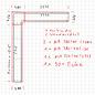 Versandmetall -Set [5.715 + 2.795m] wandafdekking van 1 mm aluminium eloxiter E6 / EV1 b = 320/380 mm h = 40 mm incl. 4 connectoren, 1x 90 graden hoek 2x wandaansluiting,