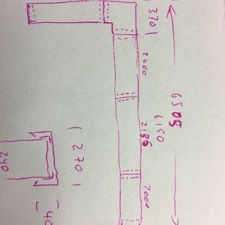 Versandmetall -Set [ 7,525 mtr ] Sonder Mauerabdeckung aus 1mm Alu antrazit ( RAL 7016) Breite 270mm a/b 40mm  1x650mm 1x2135mm 2x2000mm 6x Verbinder,  1x 90° Ecke 1x Wandanschl. 1x Endstück