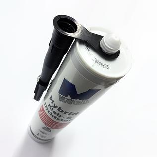 Versandmetall Adhésif et scellant high-tech -290ml, noir