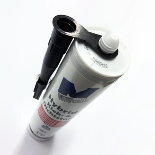Versandmetall 8x adhésif et scellant high-tech -8x 290ml, noir