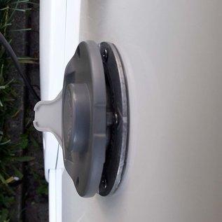 Condensaatafvoer Schoorsteenscherm Afvoer voor deksel Schoorsteenkap Schoorsteenkap Uitlaatgasschoorsteen van de kachel op een camper