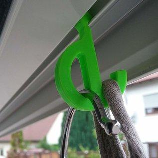 Manufaktur 3D Lot de 8 crochets oeillets pour auvents, petits crochets pour rails passepoil 7mm