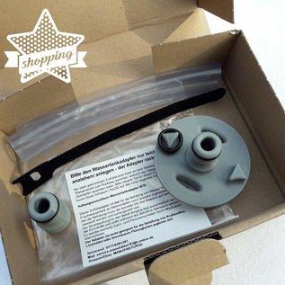 Manufaktur 3D Bouchon de réservoir d'eau avec connexion pour système Gardena, adapté pour bouchon de réservoir 2 broches D: 78mm