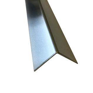 Versandmetall Set [4 pièces] cornière en aluminium, matériau aluminium vierge 1,0 mm, film de protection d'un côté, axb 80x80 mm L = 2500 mm