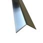 Versandmetall Set [ 4 teil ] Aluminiumwinkel, Material 1,0 mm Alu blank, einseitig Schutzfolie, axb 80x80mm L= 2500mm
