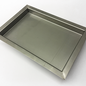 Versandmetall Receveur de douche en acier inoxydable, receveur de douche {R3A} 1,5 mm, Meulage INSIDE K320, profondeur 700 mm, largeur 1000 mm, 1 trou de vidange, hauteur 60 mm, bord périphérique 20 mm