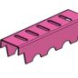 """Versandmetall -Set Drainagerinne """"B"""", Rinne (eins gelocht) aus 1mm, Einlaufrost 1,5mm Edelstahl: Mit passenden Deckelblechen, 6 Endstücken, 10 Verstärkungen für 190mm: 1 Stk 176,5cm eb 90mm, 1 Stk 104,5cm eb 190mm, 1 Stk 106,5cm eb 190mm, inkl Reste"""