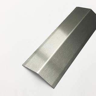Versandmetall [20B] Angle de protection d'angle en acier inoxydable angle 135 ° épaisseur du matériau 2,0 mm axb 10x10 mm longueur 2500 mm hors sol K320
