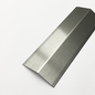 Versandmetall [20B] RVS hoek hoekbeschermingshoek 135 ° materiaaldikte 2.0mm axb 10x10 mm lengte 2500 mm buitengrond K320