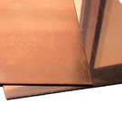 Kupferblech Zuschnitt 25 - 500mm Breite bis 2000mm Länge