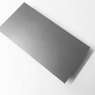 duune plaat, Staal, op maat gesneden 25 tot 150 mm breedte en lengte 2000 mm