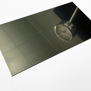 Spatscherm fornuis panel keuken achterwand glanzend/spiegelnde