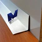Versandmetall [5A] Epaisseur du matériau de l'angle intérieur 1,0 mm axb 15 x 25 mm longueur 2000 mm sol extérieur K320