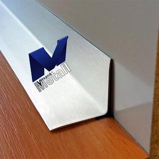 Versandmetall [5A] Innen Eckwinkel Materialdicke 1,0mm axb 15 x 25 mm  Länge 2000 mm Aussen Schliff K320