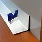 Versandmetall [5A] Binnenhoekhoek materiaaldikte 1,0 mm axb 15 x 25 mm lengte 2000 mm buitengrond K320