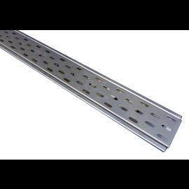 Versandmetall Schlitzrost für Drainagerinnen Einlaufbreite 90 bis 190mm