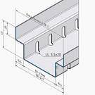 Versandmetall Draingoten Afvoergoten Roostergoot RVS vorm A roestvrij Staal met Rooster Breedte Inlaat 90 - 190 mm - Copy