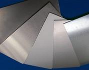 Vlakke blanke plaat, gegalvaniseerd metaal, aluminium of roestvrij staal