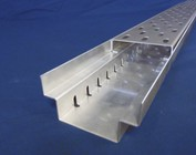 Draingoot Afvoergoot Roostergoot Lijngoot vorm A, Aluminium / roestvrij staal