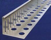 Grindkeringsprofiel, Grind strooken aluminium