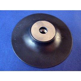 Steunschijf, Rubberschijf voor Fiberschijf 115 mm met schroefdraad M14