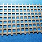 dunne plaat rooster Vierkante geperforeerd gaten 8x8mm staf 4mm, roestvrij staal