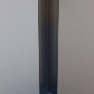 Versandmetall RVS 304 Hoekbeschermer roestvrij Staal Binnenhoek Lengte 1000 mm gelijkzijdig gezet 90°