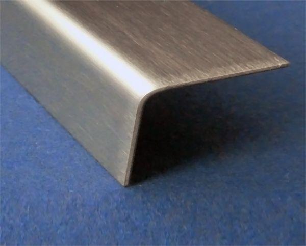 Hoekprofiel Rvs 304 Hoekstrip Roestvrij Staal Lengte Naar Keuze Kopen Van Versandmetall Versandmetall
