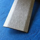 Versandmetall Bande de recouvrement inox  1.4301 surface brossé 2 fois 172 ° biseauté