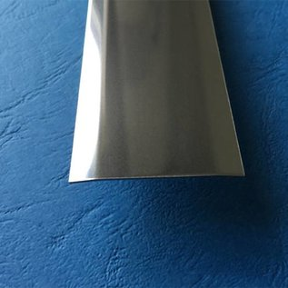 Versandmetall Bande de recouvrement de joint en 1.4301 de la surface IIID brillant miroir surface 2-plis 172 ° biseauté