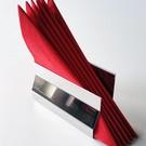 Versandmetall Elegant servethouder gemakt van roestvrij Staal buitenkant glanzend/spiegelnde