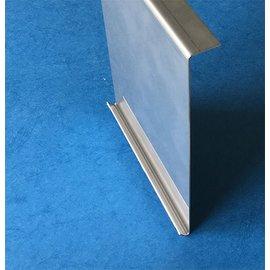 Versandmetall bord de pelouse inox , connecteur stable en acier inoxydable 130-200mm