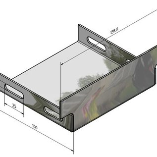 Versandmetall Accessoires pour les systèmes de drainage en aluminium pour le drainage de surface des surfaces