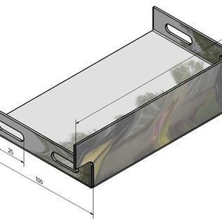 Versandmetall Zubehör für Drainagerinnen aus Aluminium zur Linienentwässerung von Oberflächen
