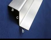 Z-profiel hoogte c tot 30mm