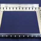 Versandmetall Drain-Gully Rahmen fix ohne Einlaufrost 1,5mm Aluminium