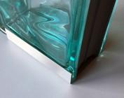 Profil U en acier inoxydable pour la couverture des briques de verre